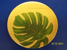 "Island Palms Tropical Luau Palm Tree Summer Pool Party 8"" Melamine Serving Tray"