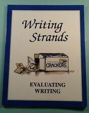 Writing Strands Evaluating Writing  Dave Marks 1991-2001 Paperback Homeschool