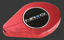 NRG UNIVERSAL POWDER COATED ALUMINUM RADIATOR CAP COVER (Decorative CAP) RED
