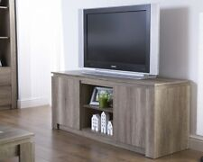 NEW Unique Oak Effect Luxury TV Unit Stylish Living Room Furniture