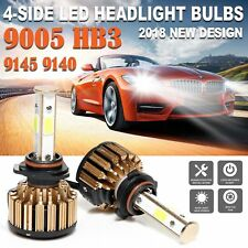 For Chevy Silverado 1500 2500 3500 CREE 9005 HB3 980W LED Headlight Bulbs 6000K