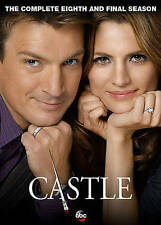 Castle: The Complete Eighth Season 8 (DVD, 2016, 5-Disc Set) Ships in 12 hours!!
