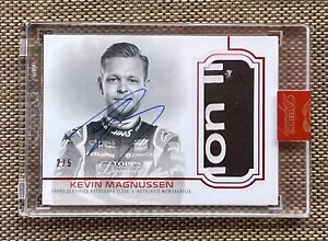 2/5 2020 Topps Formula 1 Dynasty KEVIN MAGNUSSEN Patch Auto Autograph F1 Haas 🔥