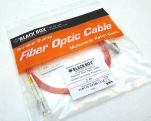 Black Box   EFN110-002M-LCLC      2 Meter Fiber Optic Cable   EFN110   NEW