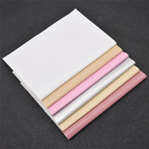 A4 Smooth PU Synthetic Leather Solid Fabric Sheet DIY Shoes Bag Sewing Material
