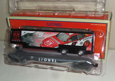 LIONEL TRAINS 6-26353 KASEY KAHNE FLATCAR WITH TRAILER IN ORIGINAL BOX - NEW