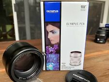 Olympus M.Zuiko 75mm f/1.8 AF ED Lens