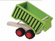mehrfarbig mit 4 Tieren aus Holz 7-teili Small Foot 7158 Traktor und Anhänger