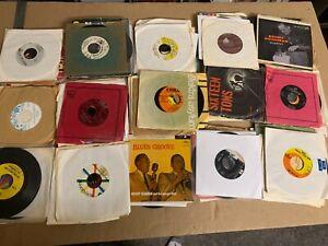 "160+ Records Mix Lot 50-70s Rock Pop Soul Jazz Country 7"" Single 45 rpm Jukebox"