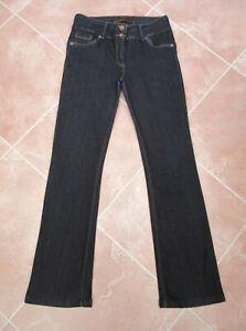 Next - Womens Indigo Lift & Shape Slim Bootcut Stretch Denim Jeans - size 14L