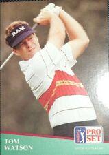 1991 PGA Tour Pro Set #41 Tom Watson PSA 10 Card POP 1 & 284 Collectible Card's