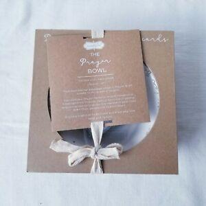 Mud Pie Prayer Bowl with Cards NEW in Box Baby Prayers for Baby Keepsake