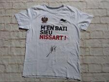 T shirt OGC NICE ogcn nissa signé signed MARIO BALOTELLI ultras foot