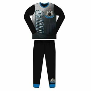 NEW Boys Football Newcastle Pyjamas Age 4 5 6 7 8 9 10 11 12 Years Cotton Long