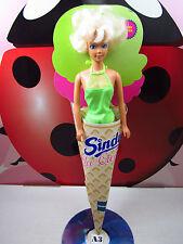 Sindy Ice Cream Doll Mint Flavor Green Swimsuit Hasbro Ceppiratti 90s Vintage