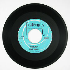 DALE WRIGHT She's Neat/Say That You Care 7IN 1957 ROCKABILLY VG+/VG++ LISTEN!!!!