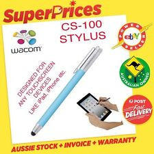 WACOM BAMBOO STYLUS PEN CS 100 BLUE FOR APPLE iPAD iPHONE/SAMSUNG TOUCH TABLET