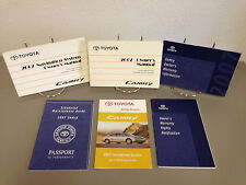2007 Toyota Camry OEM Owner's Manual w/ Navigation Guide - Free Shipping