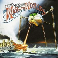 JEFF WAYNE'S MUSICAL VERSION OF WAR OF THE WORLDS 2 CD NEW