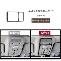 Car Front Reading Light Frame for Audi A3 8V 2012-2017 Carbon Fiber Sticker Trim