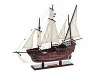Modellschiff Santa Maria Holz Kolumbus Flaggschiff Segelschiff kein Bausatz