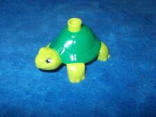 LEGO DUPLO VILLE ZOO 1 X GRÜNE SCHILDKRÖTE TURTLE aus 6157 6158 10584 Grün