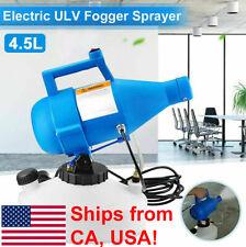 ULV Sanitation Disinfectant Electric Sprayer Fogger 110V 4.5L - Ships from USA!