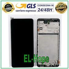 DISPLAY LCD ORIGINALE + FRAME SAMSUNG GALAXY M51 2020 SM-M515F M515 TOUCH SCREEN