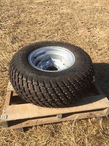 PAIR Of Titan 29x12.50-15 NHS Bias 4 Ply R3 Turf Tire On Welded Wheel 29-12.5-15