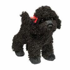 GIGI the Plush BLACK POODLE Puppy Dog Stuffed Animal - Douglas Cuddle Toys #3987