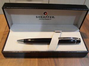 Sheaffer 300 Series Gloss Black Ballpoint Pen BNIB