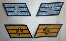 ISRAEL IDF ZAHAL NAVY+AIR FORCE FIRST SERGEANT RANKS