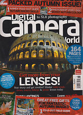 DIGITAL CAMERA WORLD MAGAZINE UK #118 NOVEMBER 2011, WITH 2 FREE GIFTS SEALED.