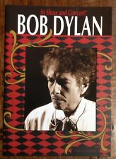 Bob Dylan In Show and Concert Official Programme Tour 2008
