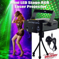 Mini LED RGB Stage Laser Projector Light Lighting DJ Disco Lamp Park Club UK NEW