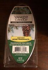 Yankee Candle Fresh Balsam Fir Fragrance Wax Melts 2.6oz Warmer