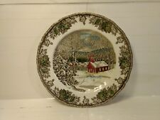 Johnson Brothers The Friendly Village School House Collectible Plate pl491