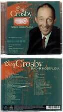 """BING CROSBY """"Radio Nostalgia"""" (2 CD) 49 Titres 2008 NEUF"""