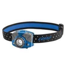 Linternas linteras de cabeza de color principal azul para acampada y senderismo