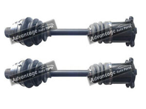 FOR AUDI A4 07>16 A5 07>17 DRIVE SHAFTS LEFT & RIGHT SIDE PAIR - NEW OE QUALITY