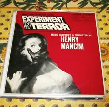 Henri Mancini  Experiment in terror  Original LP Northern soul Popcorn