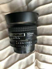 Nikon NIKKOR 50mm f/1.4 D SIC AF Lens