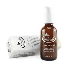 Austrailian Emu Oil 2 oz 100% Pure oil no additives Anti aging Anti acne