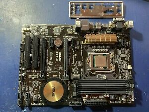 Asus Z97-K  Motherboard with i5 4670k 3.4Ghz CPU