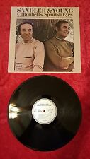 "Sandler & Young Spanish Eyes Cotton Fields1973 12"" 33 RPM LP Vinyl Record VG+ #9"