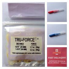 T P Orthodontic Bands Tru-Force Elastic  Lavender . + 2 Interdental Brushes Free
