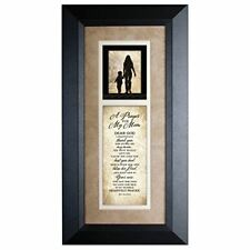 NEW James Lawrence Prayer For My Mom Wood Framed Art with Easel 3812