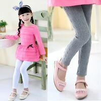 Child Kids Girl Casual Pants Trousers Leggings Age 2 3 4 5 6 7 8 9 10 11 12