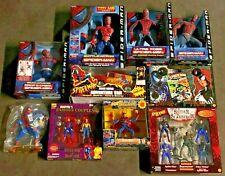 Marvel ToyBiz Vintage Spider-Man Series Doll RARE figure mix Lot Of 10 NIB Mint