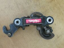SIMPLEX S005 COMPOSIT DERAILLEUR ARRIERE VELO COURSE ANCIEN VINTAGE BICYCLE REAR